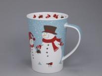 ARGYLL Snow Flurry Snowman-porcelana