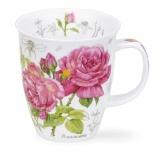 NEVIS -Floral Sketch Rose -porcelana