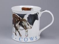 WESSEX Farm Animals Cows -porcelana