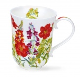 BREMAR - Cottage Flowers Red - porcelana