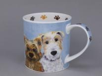 ORKNEY Furry Friends Dog- porcelana