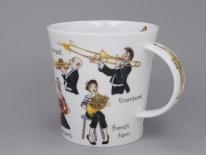 CAIRNGORM Musical Mayhem Brass -porcelana