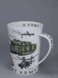 ARGYLL Armed Forces Army - porcelana