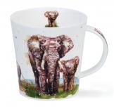 CAIRNGORM -Serengeti Elephant -porcelana