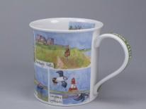 BUTE Northumberland -porcelana