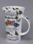GLENCOE World of the Butterfly- porcelana