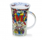 GLENCOE - VE Day Anniversay - porcelana