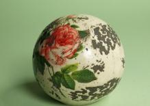 """W 19636 """"Róża"""" kula ceramiczna"""