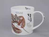 ORKNEY Seaside Notebook Lobster- porcelana
