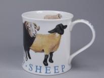 WESSEX Farm Animals Sheep -porcelana