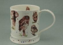 IONA Owls -porcelana