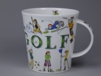 CAIRNGORM Sporting Antics Golf - porcelana