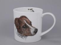 ORKNEY Hannah Longmuir Dog Collection Jack Russell -porcelana