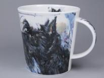 CAIRNGORM Dogs on Canvas Scottie -porcelana