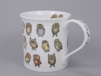 BUTE Little Chicks Owls- porcelana
