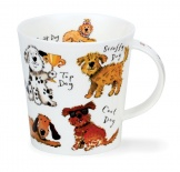 CAIRNGORM -A Dogs Life -porcelana