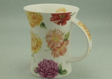 RICHMOND Old Garden Roses Yellow -porcelana