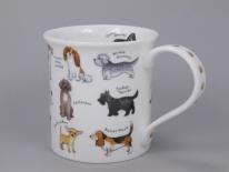 BUTE Animal Breeds Dog Breeds -porcelana