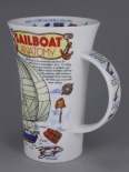GLENCOE Sailboat Anatomy - porcelana
