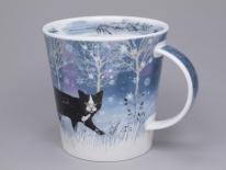 CAIRNGORM Moonbeam Cat -porcelana