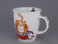 NEVIS Comfy Cats Ginger- porcelana