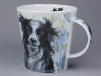 CAIRNGORM Dogs on Canvas Collie -porcelana