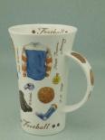 GLENCOE Sports Memorabilia Football -porcelana