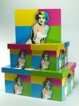 "LP 17665 Pudła ""Pop Art -Marilyn"""