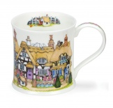 WESSEX -Cottage Row Thatched -porcelana