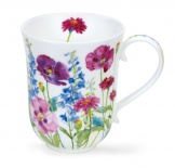 BREMAR - Cottage Flowers Purple - porcelana