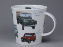 CAIRNGORM Classic Collection Land Rovers - porcelana