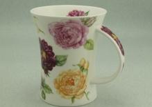 RICHMOND Old Garden Roses Burgundy -porcelana
