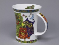 RICHMOND Glitterati Owl - porcelana