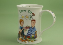 COTSWOLD How to Cook -porcelana