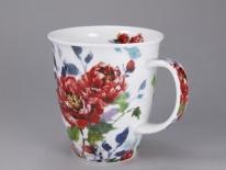 NEVIS -Peonies Red -porcelana