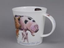 CAIRNGORM Farmyard Pigs-porcelana