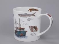 ORKNEY Seaside Notebook Fishing Boat- porcelana
