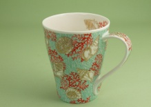 SOLWAY Corali Turquoise - porcelana