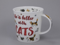 LOMOND Slogans Cats- porcelana