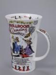 GLENCOE Ballroom Dancing -porcelana