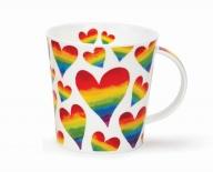 CAIRNGORM -Rainbow Hearts -porcelana