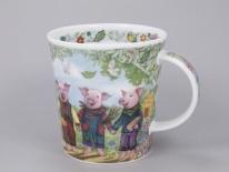 LOMOND Fairy Tales III Three Little Pigs -porcelana