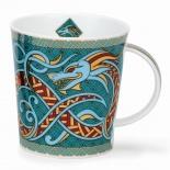 LOMOND -Dragon Turquoise -porcelana