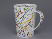 ARGYLL Squiggle Lime -porcelana