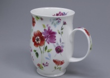 SUFFOLK Floral Harmony Red -porcelana
