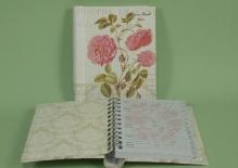"""LP 70401 Adresownik """"Rose Garden"""""""