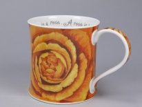 WESSEX Roses Orange - porcelana