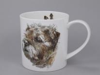 ORKNEY Hannah Longmuir Dog Collection Border Terier- porcelana