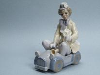 """LP 11127 Figurka porcelanowa """" Klown"""""""