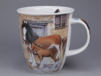 NEVIS Country Life Horse - porcelana